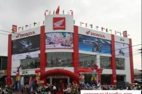 Công trình SHowroom ô tô, xe máy Honda tại địa chỉ 171 Xuân Thủy - Cầu Giấy - Hà Nội
